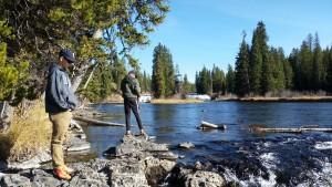Jadon & Josh Cave Falls Yellowstone