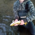 Josh's Brown Trout - Caught on Maxxon Outfitters Stone Fly #5 Combo