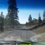 Road between Ashton, Idaho and Cave Falls Yellowstone (2)
