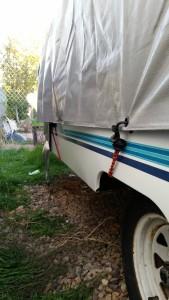 Camper Winterizing with Jungle Cord